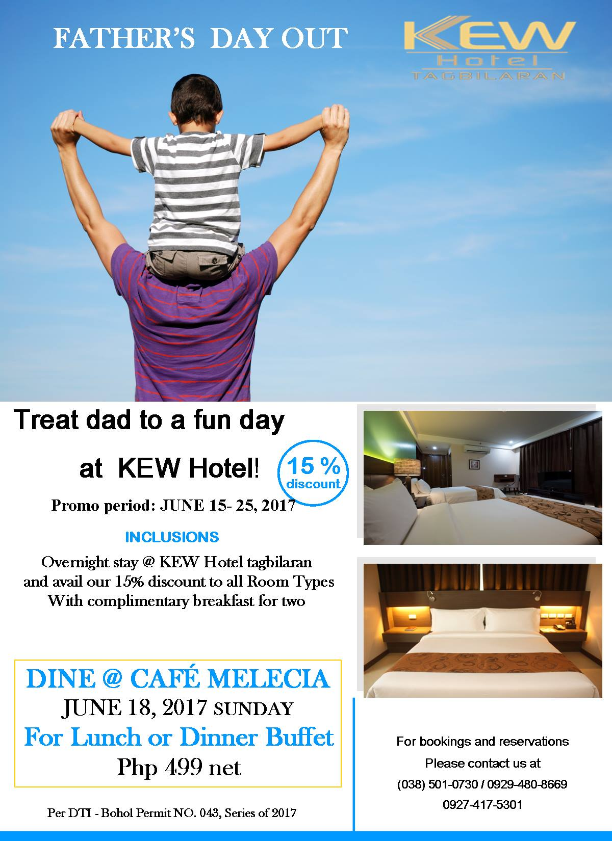 Fathers Day Special discount