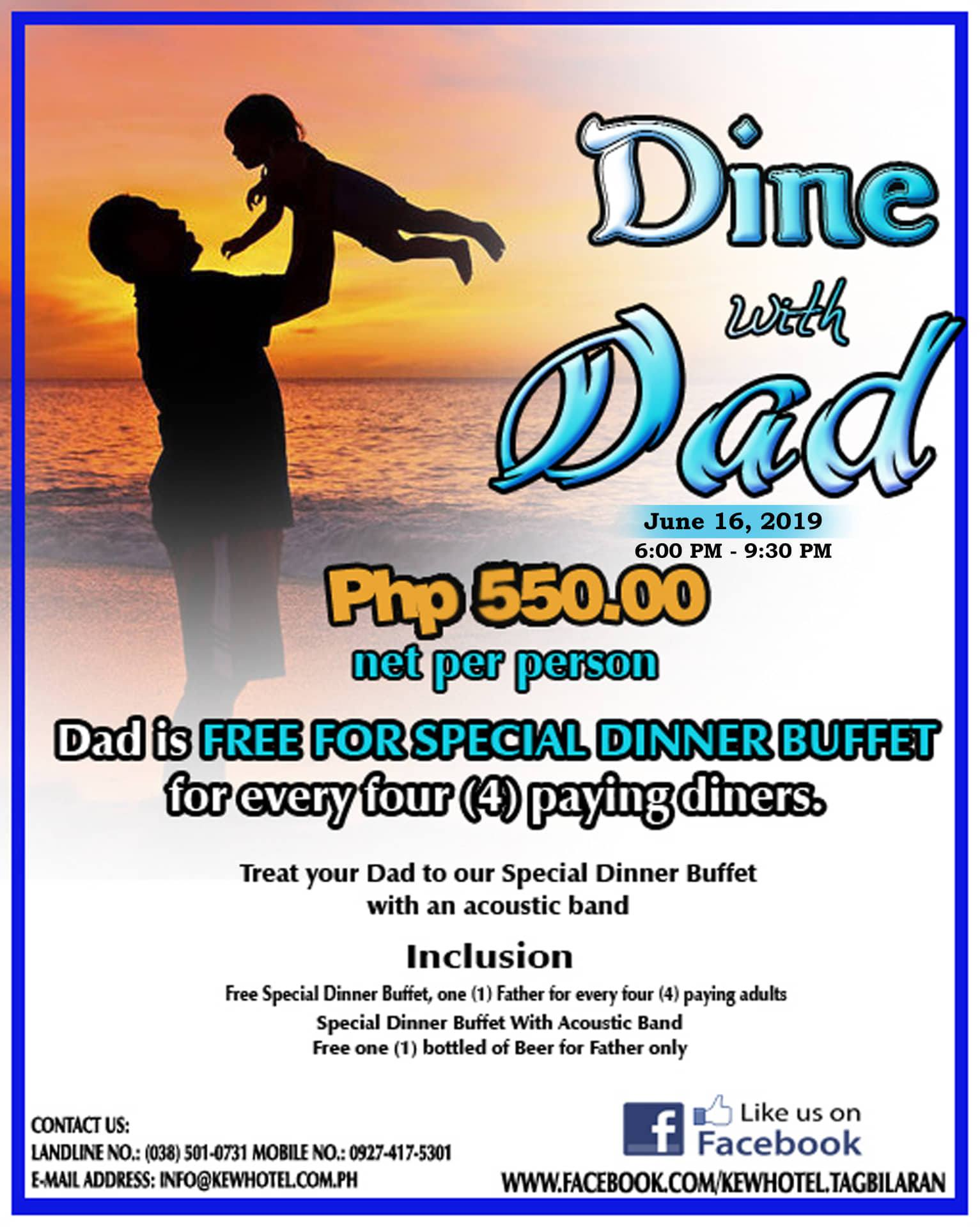 Dine with Dad