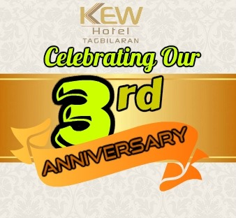 Kew hotel - tagbilaran 3rd year anniversary