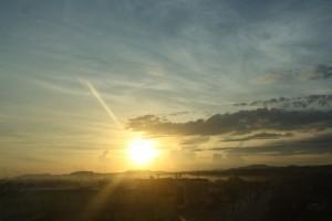 sunrise view